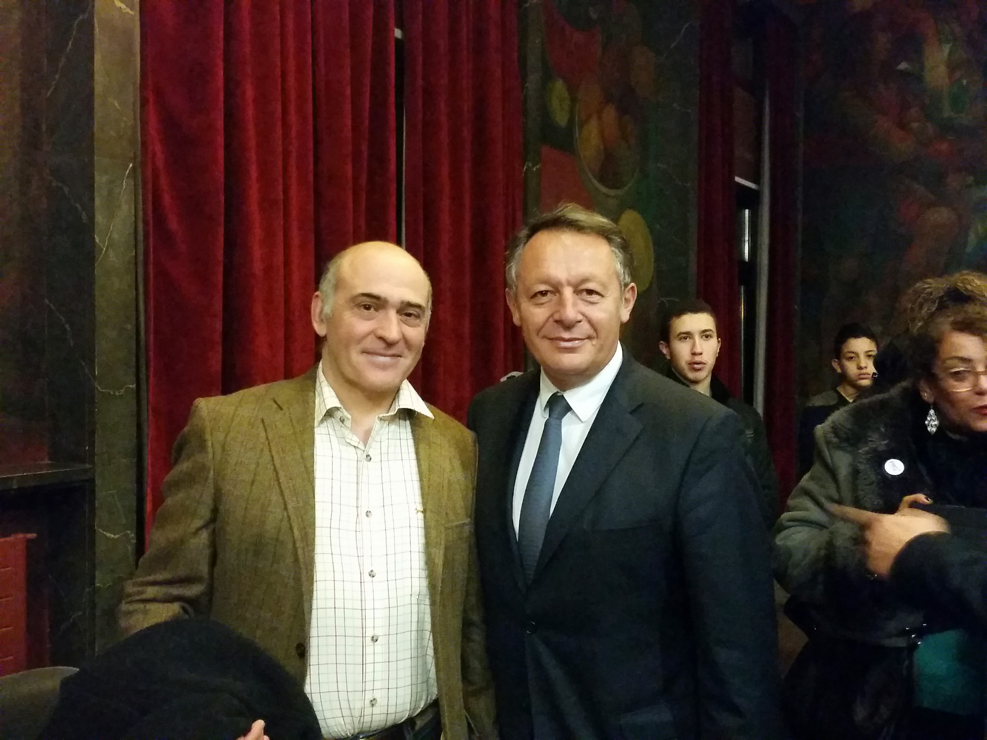 Rencontre avec le secrétaire d'état aux sports Thierry Braillard