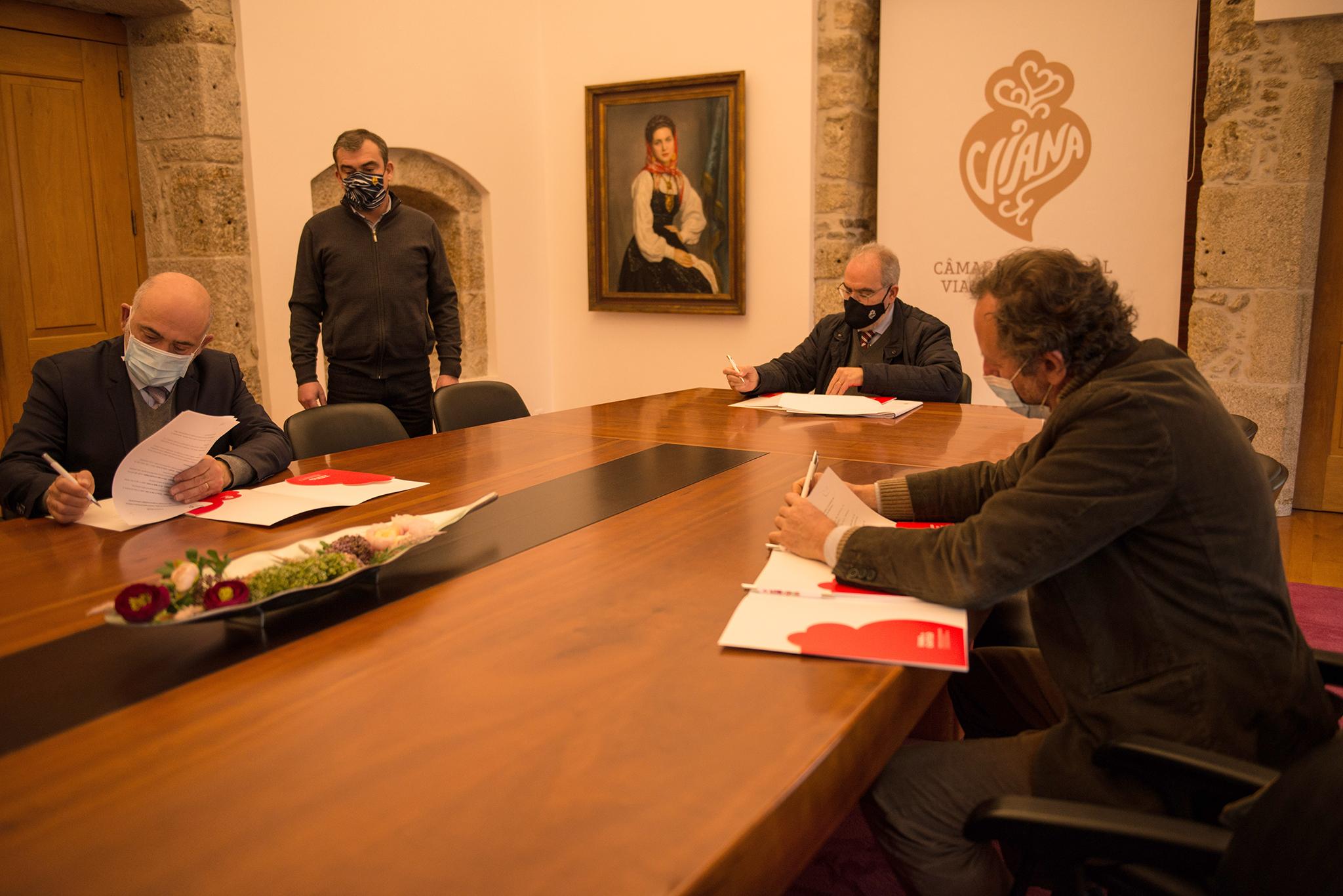 L'Institut signe un protocole de coopération avec la mairie de Viana do Castelo (Pt)