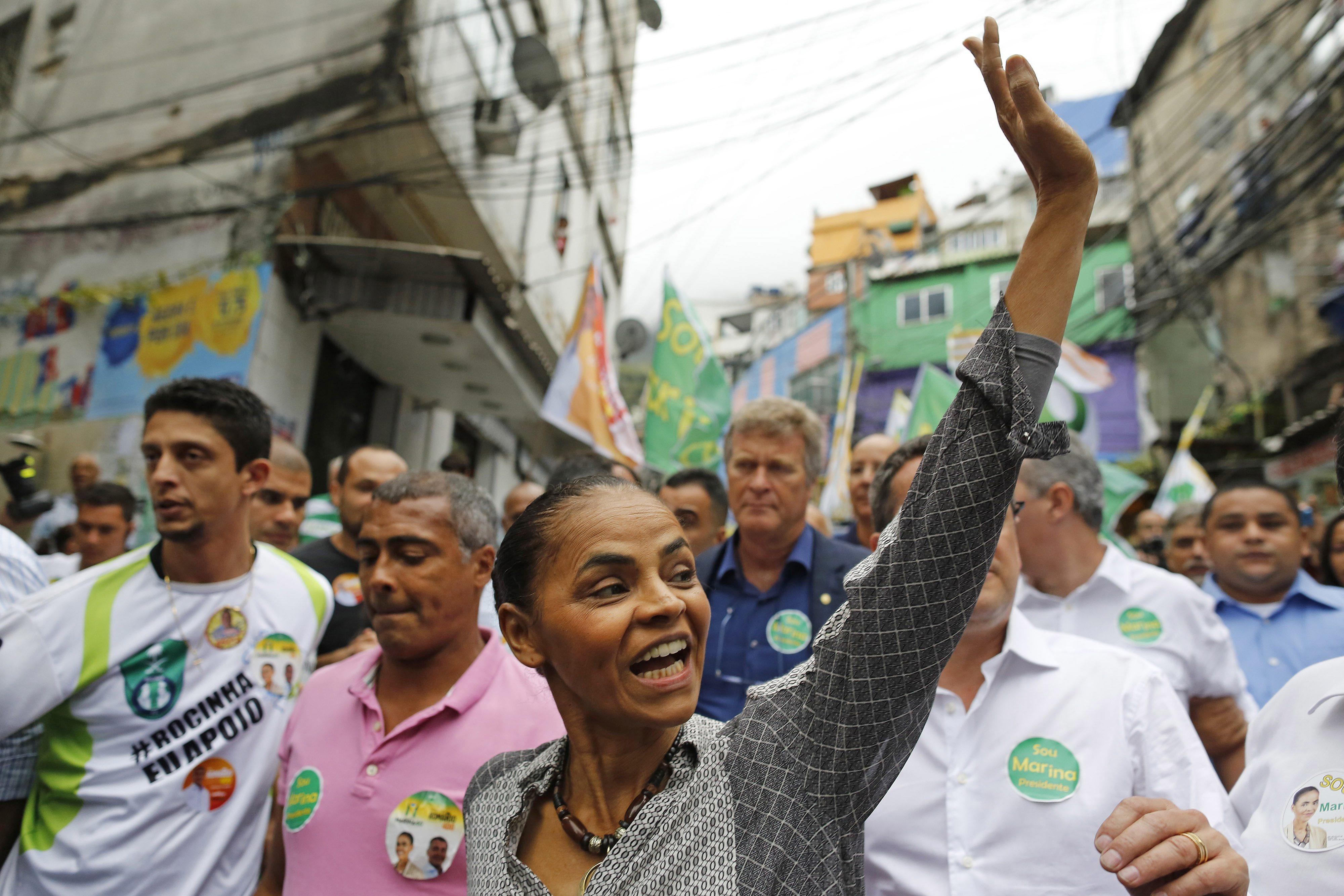 Conférence de l'ancienne ministre de l'environnement du Brésil le 8 décembre 2015