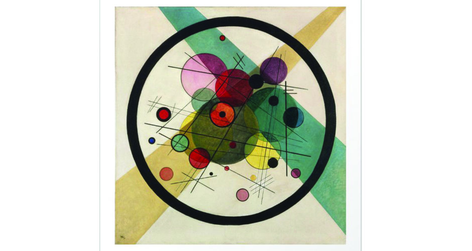 Vassili Kandinsky- Circles in a Circle