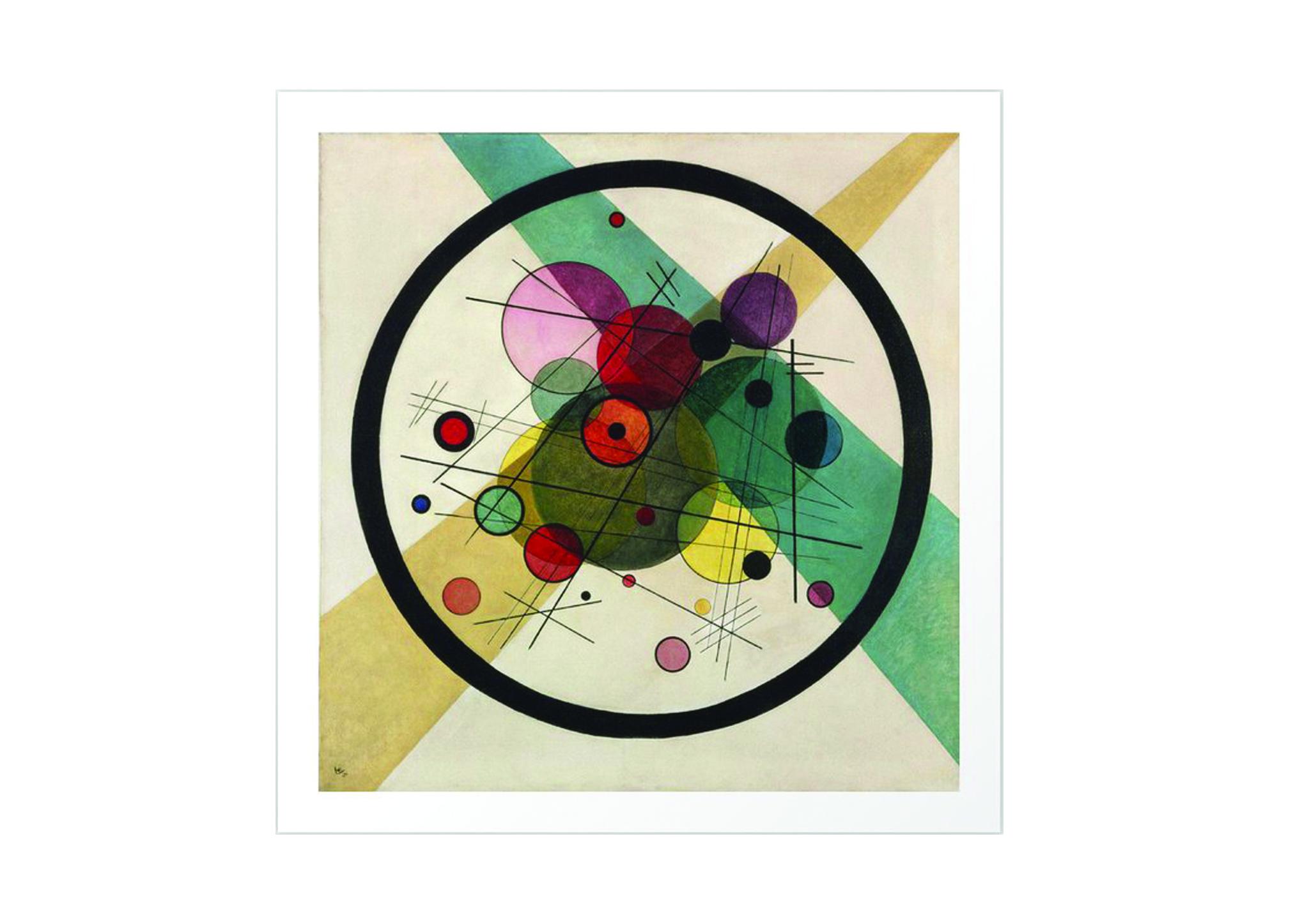 Vassili Kandinsky- Circles in a Circle