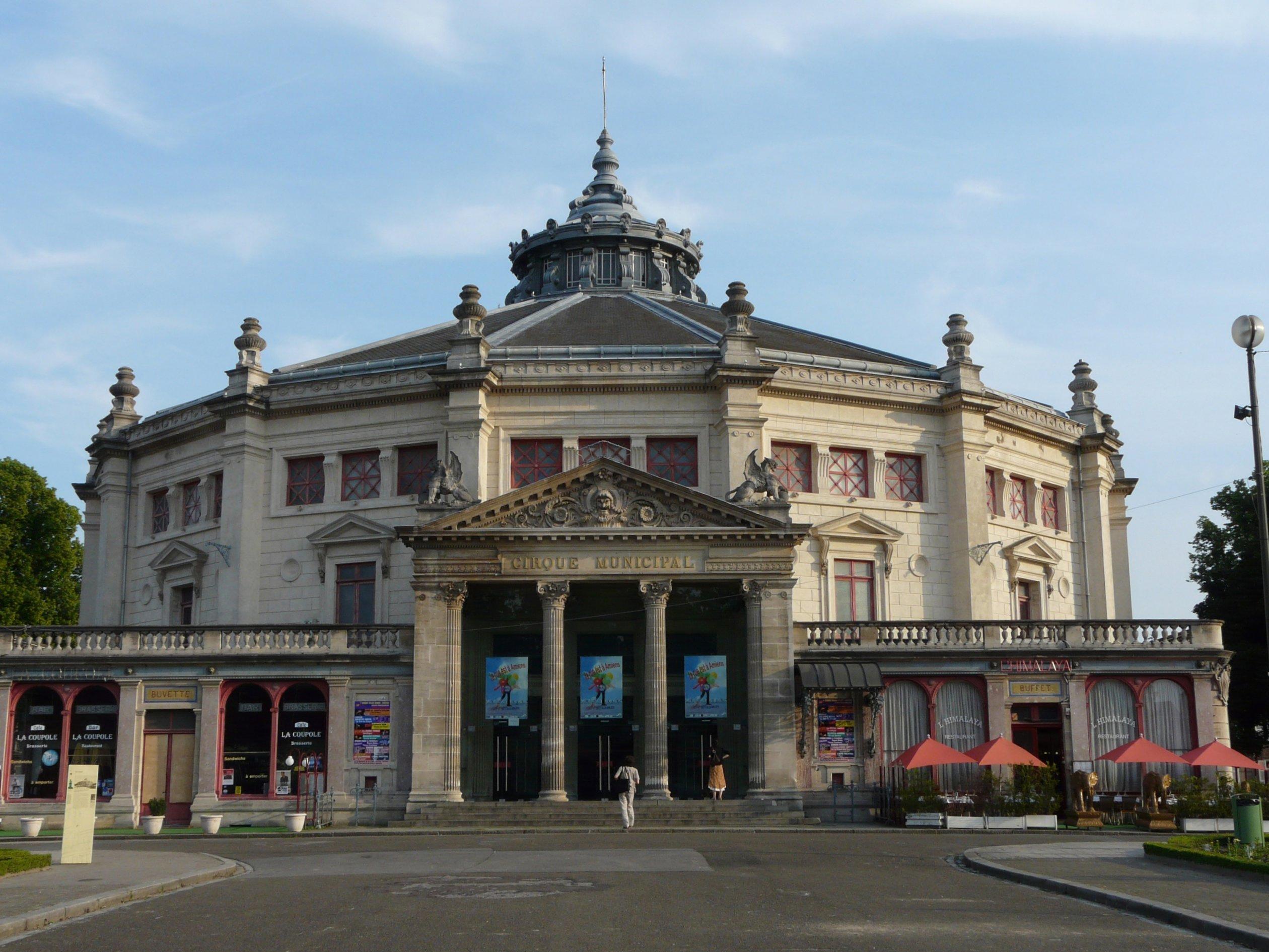 Le théâtre Marialva en tournée au Cirque d'Hiver d'Amiens en avril 2016