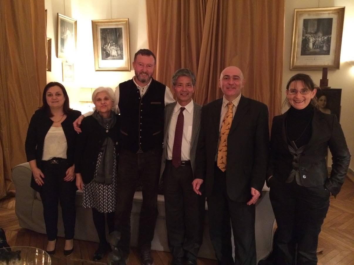 Rencontre avec le Pr. Matsuzawa le 07 janvier 2015
